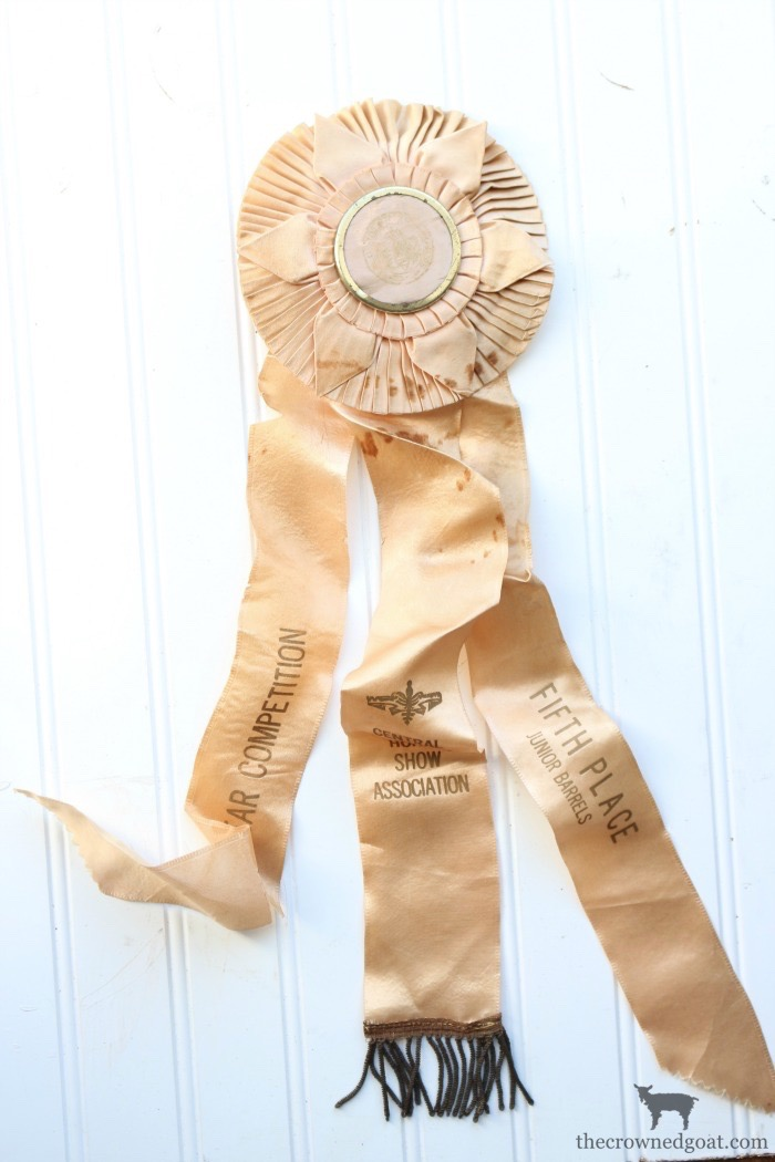 Vintage-Horse-Ribbon-The-Crowned-Goat-17 Latest Finds from the Treasure Trail ThriftScoreThurs