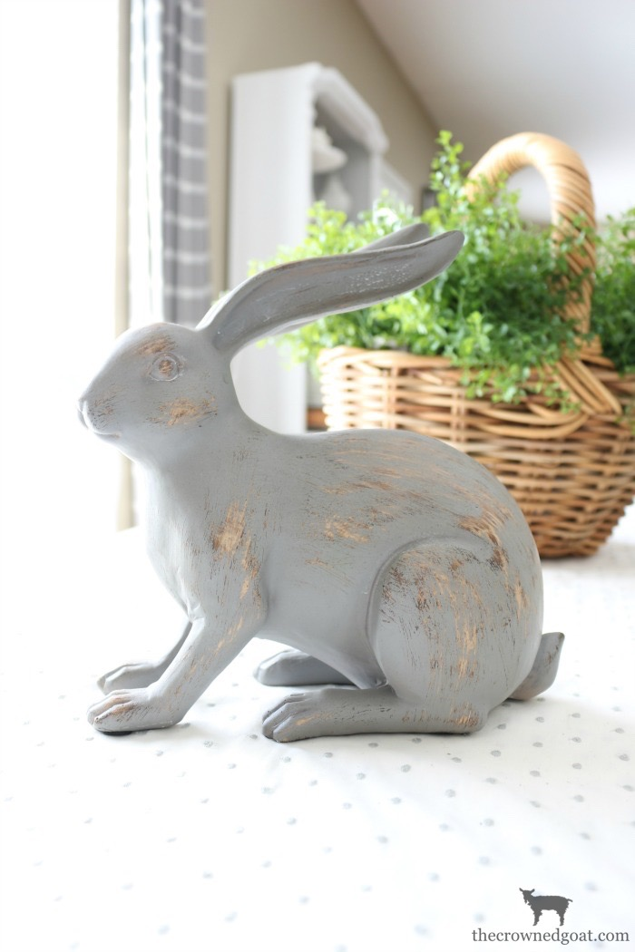 How-to-Make-a-Simple-Easter-Basket-Centerpiece-The-Crowned-Goat-11 Easter Basket Centerpiece Spring