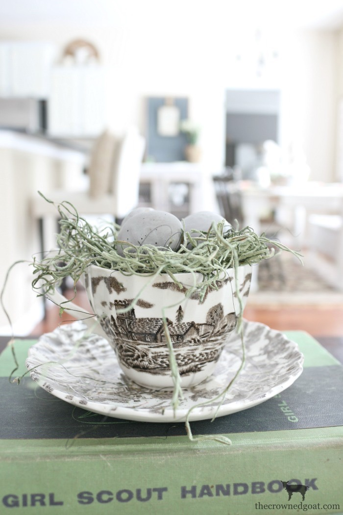 How-to-Make-a-Simple-Easter-Basket-Centerpiece-The-Crowned-Goat-2 Easter Basket Centerpiece Spring