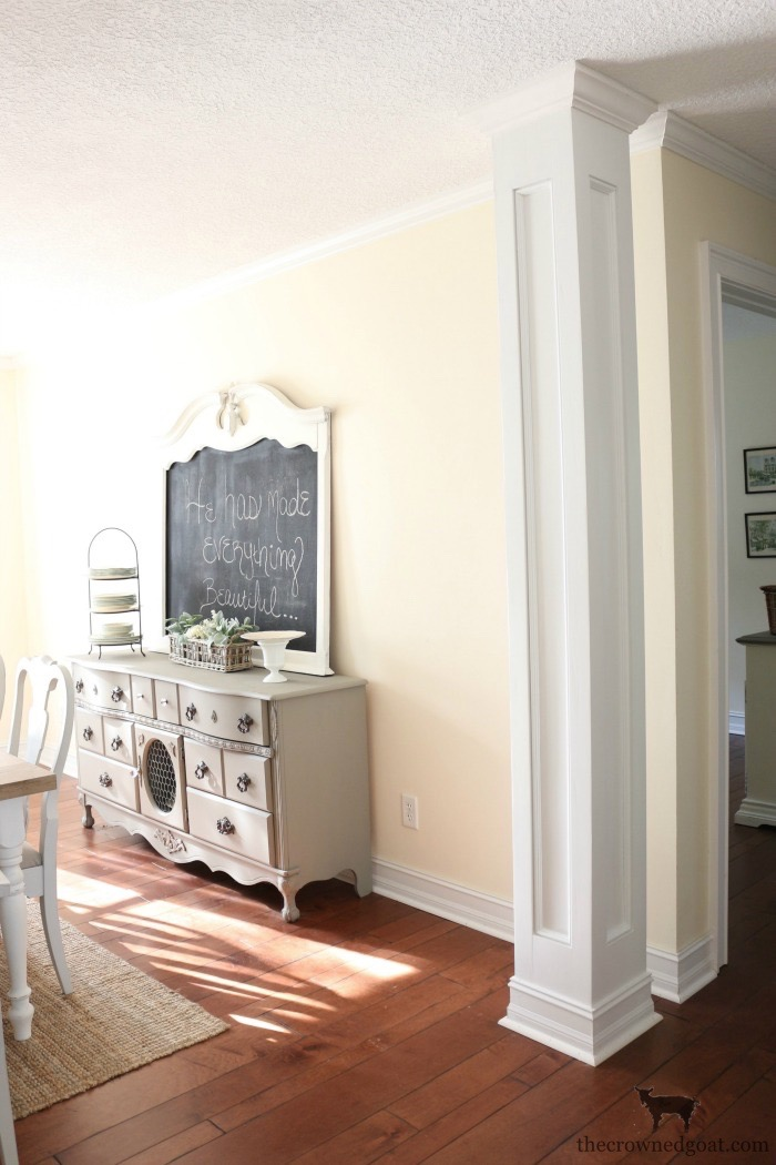 Custom-Built-Bookcase-The-Crowned-Goat-1 DIY Custom Bookcases from Columns Loblolly_Manor
