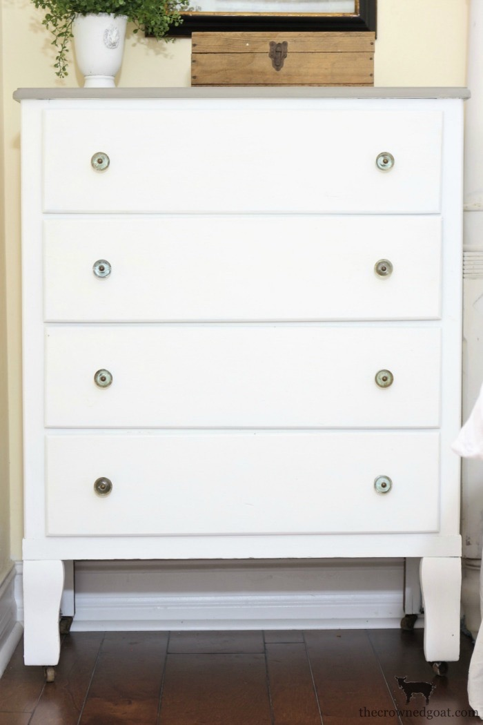 Farmhouse-Dresser-Makeover-The-Crowned-Goat-7 Farmhouse Dresser Makeover Painted Furniture