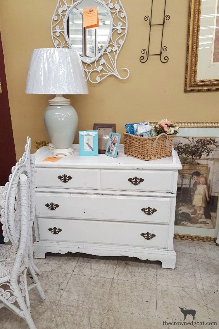 French-Linen-Buffet-Makeover-The-Crowned-Goat-1 Laundry Room Buffet Makeover One_Room_Challenge