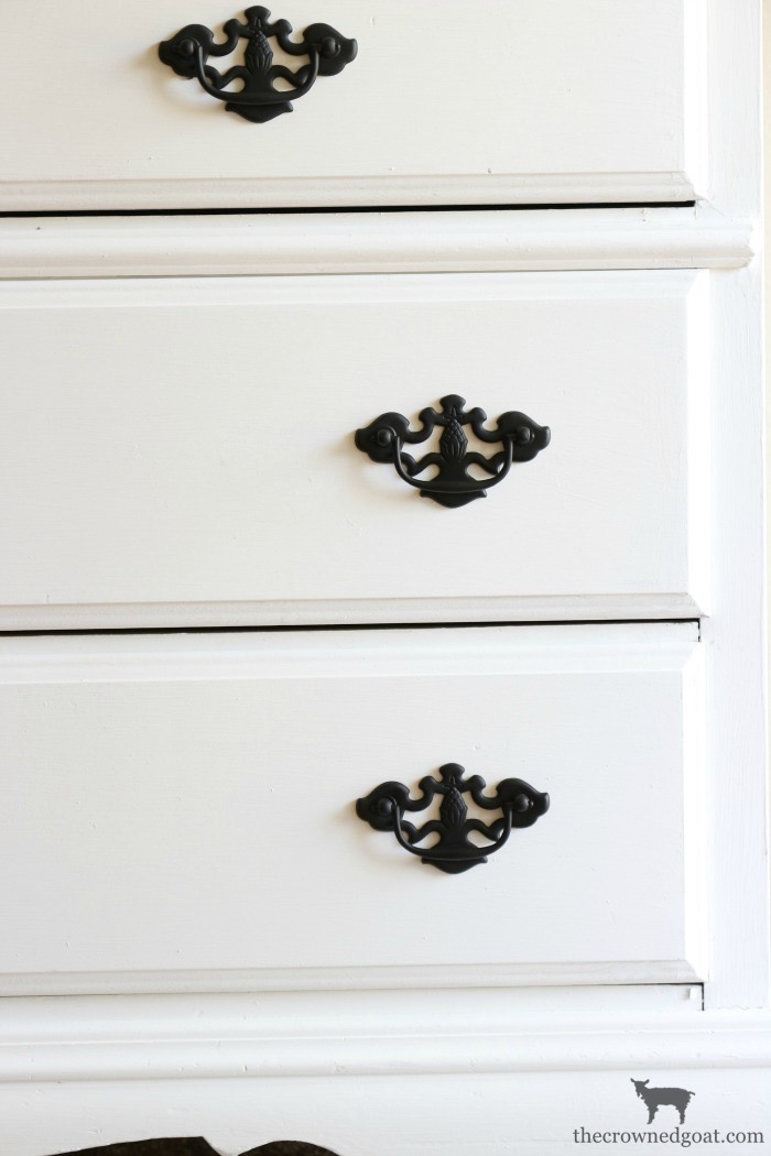 French-Linen-Buffet-Makeover-The-Crowned-Goat-9 Laundry Room Buffet Makeover One_Room_Challenge