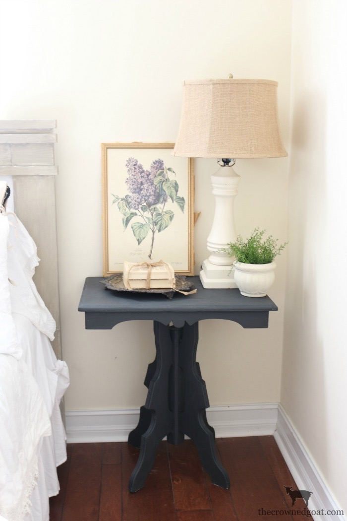 Laundry-Room-Folding-Station-Graphite-Chalk-Paint-The-Crowned-Goat-6 Laundry Room Folding Station Loblolly_Manor One_Room_Challenge Painted Furniture