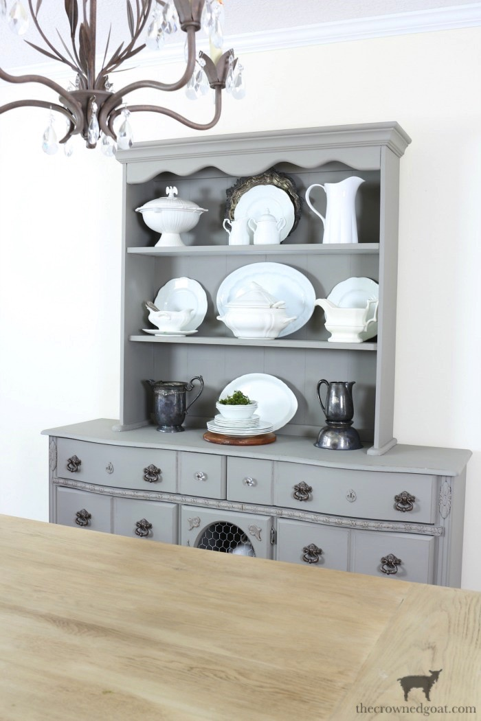 Eight Easy Tips for Styling a Dining Room Hutch & Eight Easy Tips for Styling a Dining Room Hutch \u2013 The Crowned Goat