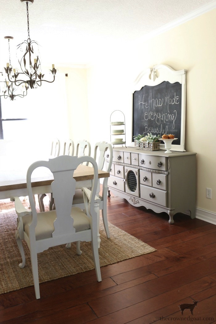 Tips-for-Styling-a-Dining-Room-Hutch-The-Crowned-Goat-2 Eight Easy Tips for Styling a Dining Room Hutch Decorating Loblolly_Manor