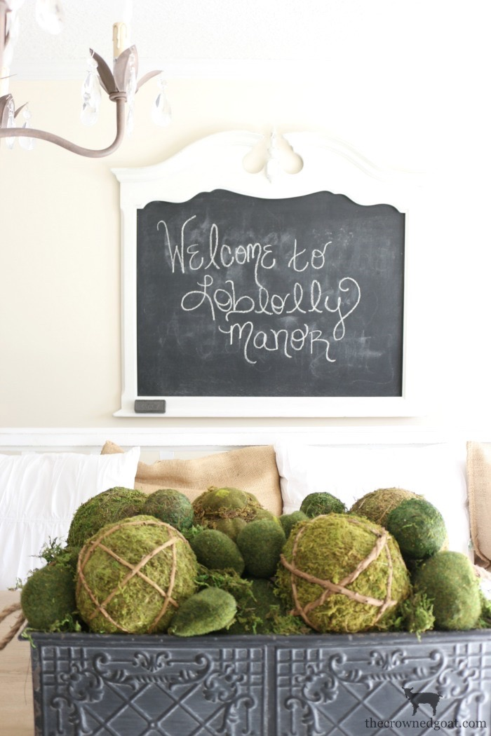 Creating-a-Chalkboard-From-a-Mirror-The-Crowned-Goat-10 Creating a Chalkboard from a Mirror Decorating Loblolly_Manor
