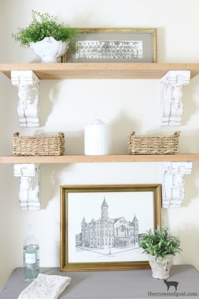 Loblolly Manor: Adding Shelves to the Laundry Room