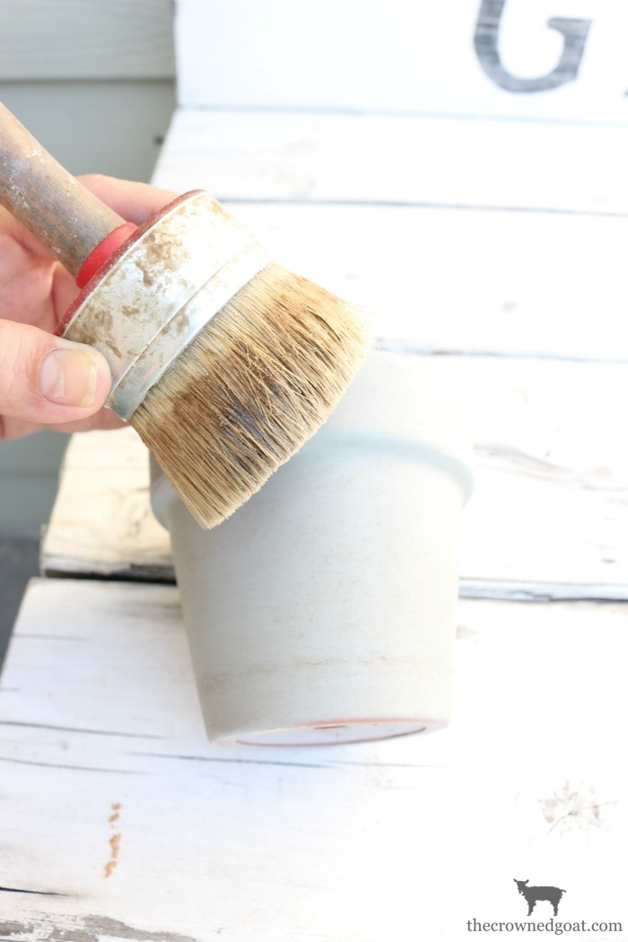 French-Inspired-Flower-Pots-The-Crowned-Goat-5 French Inspired Flower Pots Decorating DIY Loblolly_Manor