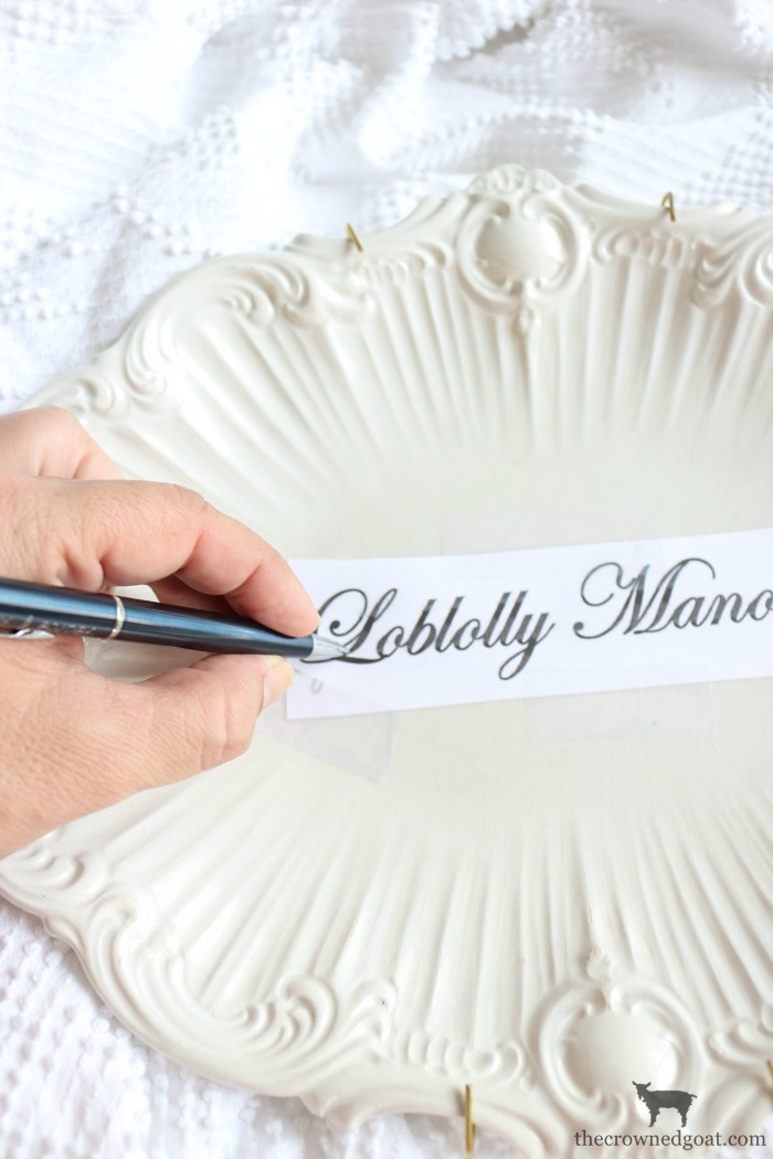 Personalize-Vintage-Plate-With-Sharpie-The-Crowned-Goat-10 Easily Personalize a Vintage Platter DIY Loblolly_Manor