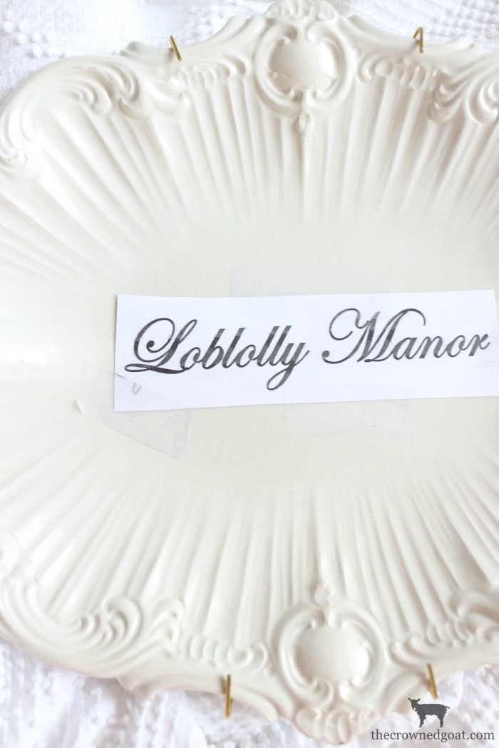 Personalize-Vintage-Plate-With-Sharpie-The-Crowned-Goat-9 Easily Personalize a Vintage Platter DIY Loblolly_Manor