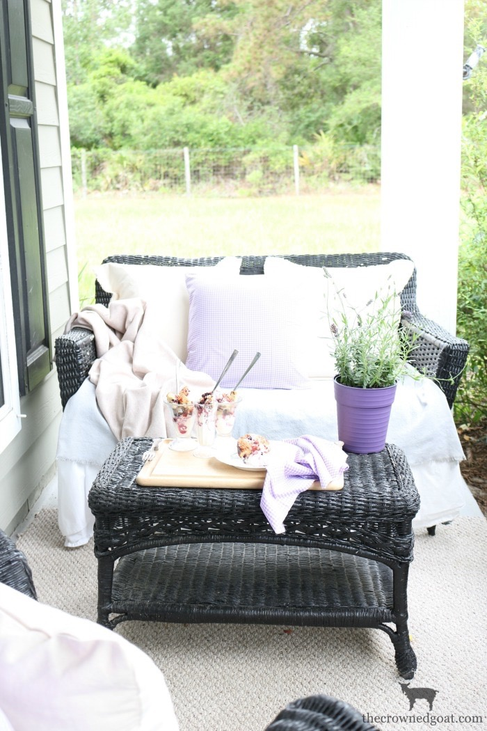 Summer-Front-Porch-Tour-The-Crowned-Goat-3 Summer Front Porch Tour Decorating DIY Summer