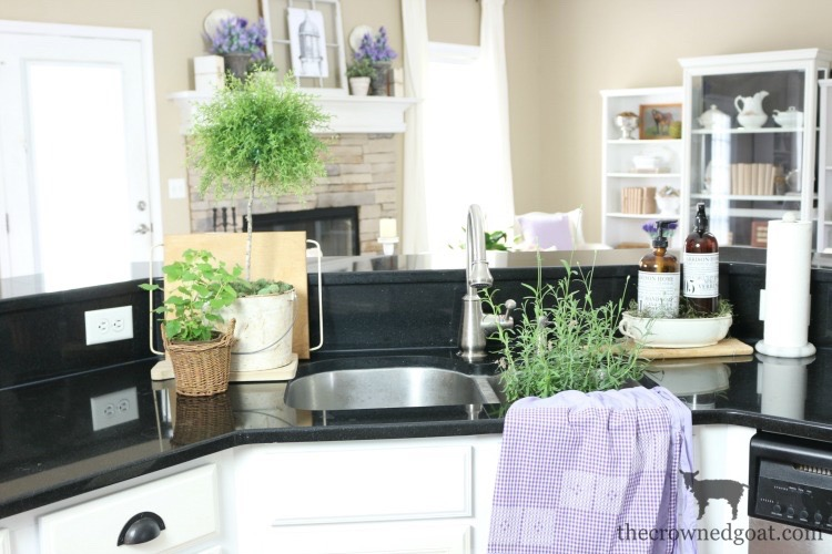 Summer-Kitchen-Decorating-Ideas-The-Crowned-Goat-1 The Busy Girl's Guide to Summer Decorating: The Kitchen Decorating Summer