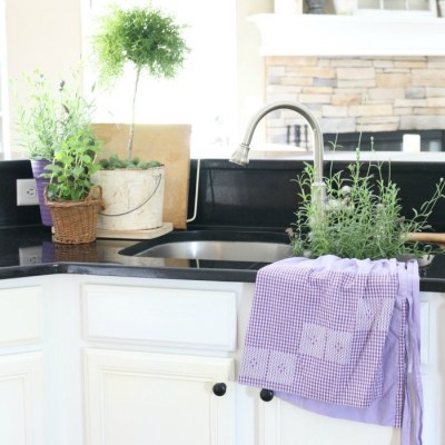 The Busy Girl's Guide to Summer Decorating: The Kitchen