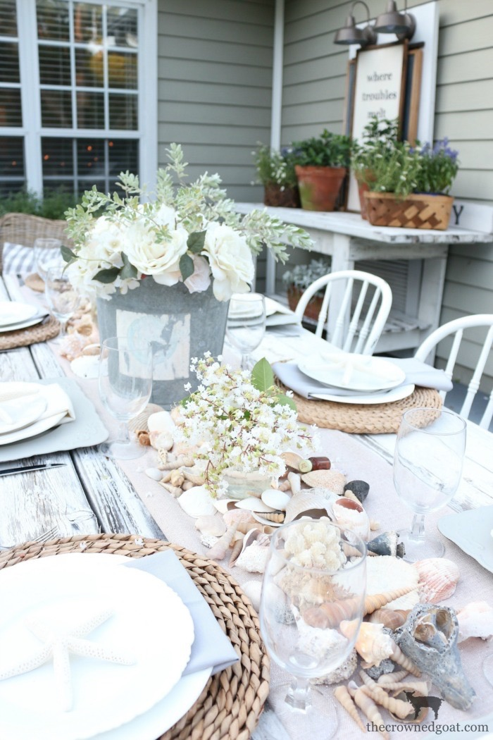 Coastal-Inspired-Tablescape-The-Crowned-Goat-9 Coastal Inspired Tablescape Decorating Summer