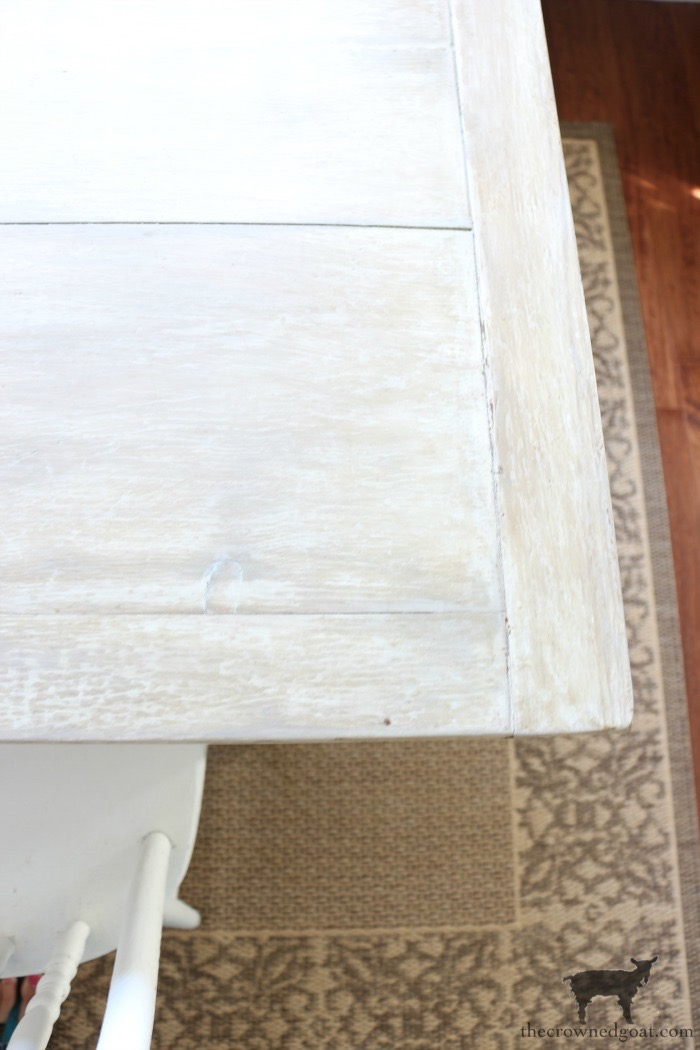 Breakfast-Nook-Table-Makeover-The-Crowned-Goat-19 Breakfast Nook Table Makeover DIY Painted Furniture