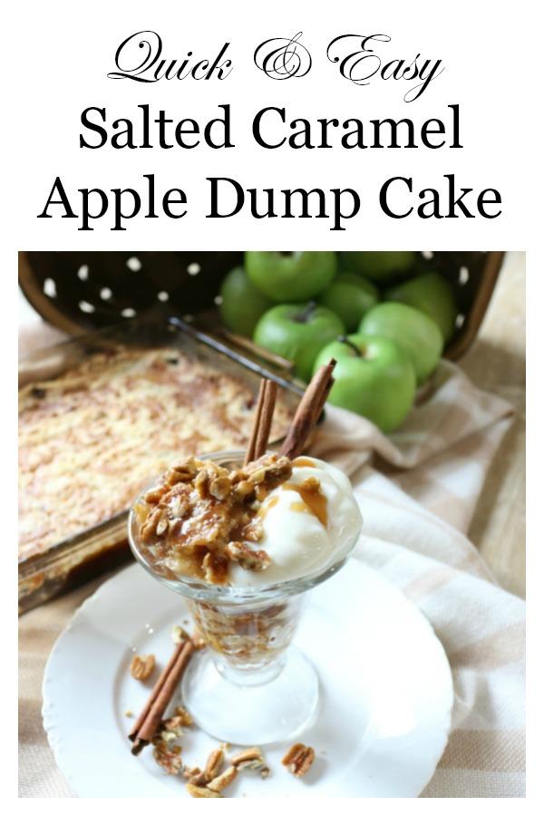 Easy-Salted-Caramel-Apple-Dump-Cake-The-Crowned-Goat-13 The Easiest Salted Caramel Apple Dump Cake Baking