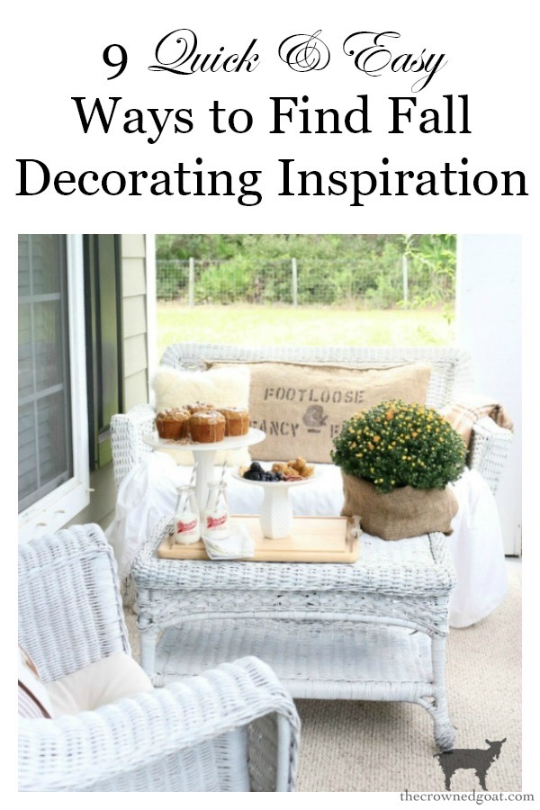 Easy-Ways-to-Find-Fall-Inspiration-The-Crowned-Goat-12 9 Quick & Easy Ways to Find Fall Inspiration Decorating Fall Organization