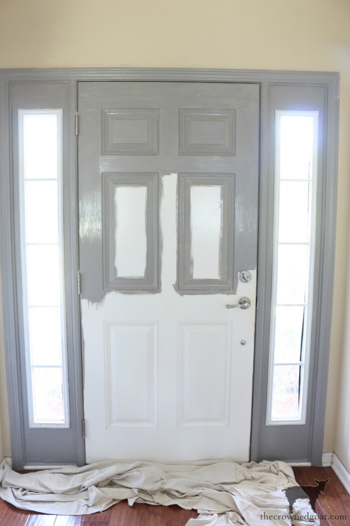 Simple-Door-Painting-Tips-The-Crowned-Goat-10 Simple Tips for Painting Interior Doors DIY