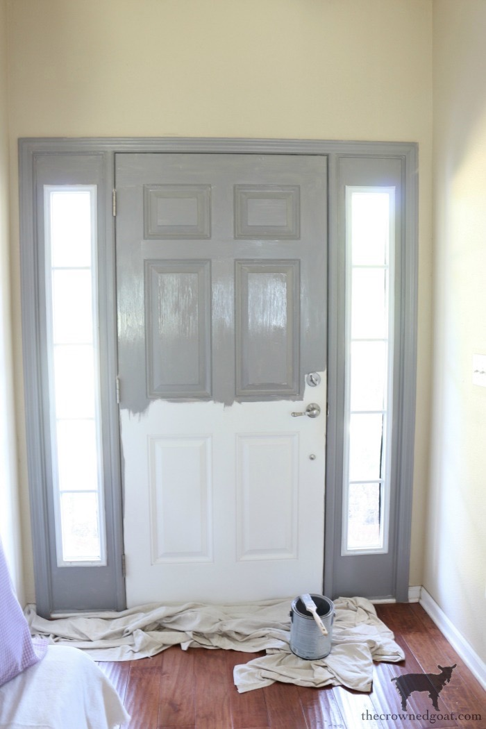 Simple-Door-Painting-Tips-The-Crowned-Goat-11 Simple Tips for Painting Interior Doors DIY