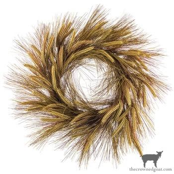 wheat-wreath-hobby-lobby-3 19 Fall Wreath Ideas Under $50 Fall