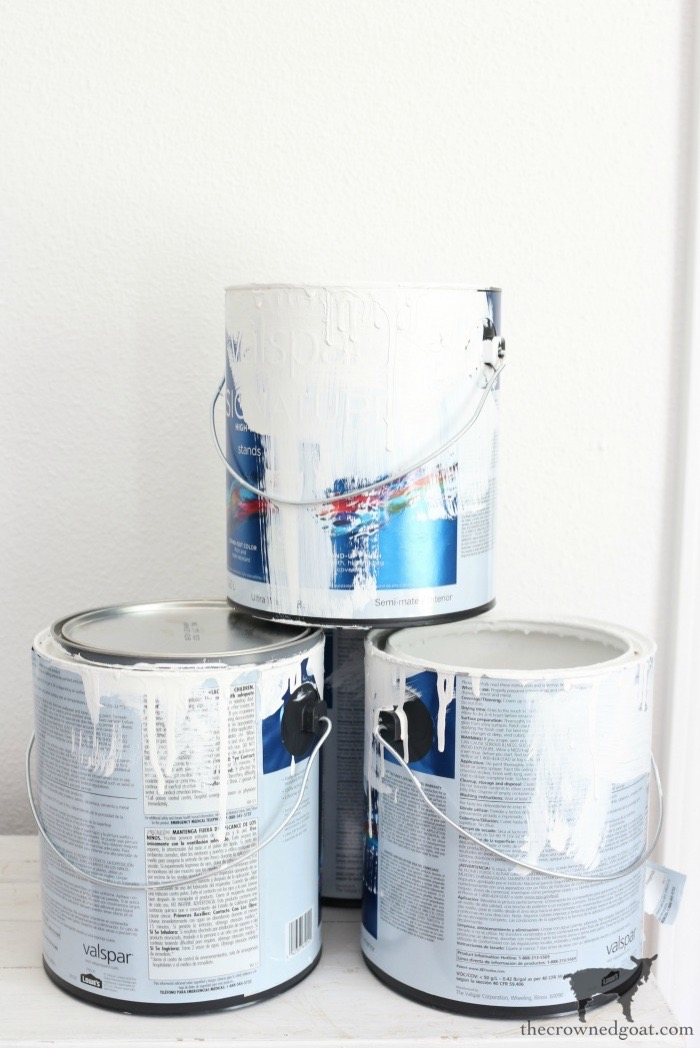 Crock-Inspired-Paint-Cans-The-Crowned-Goat-1 How to Create Crock Inspired Paint Cans Decorating DIY Fall Holidays Spring Summer