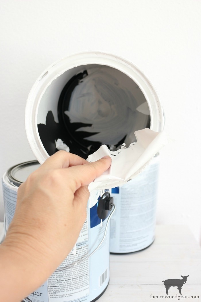 Crock-Inspired-Paint-Cans-The-Crowned-Goat-5 How to Create Crock Inspired Paint Cans Decorating DIY
