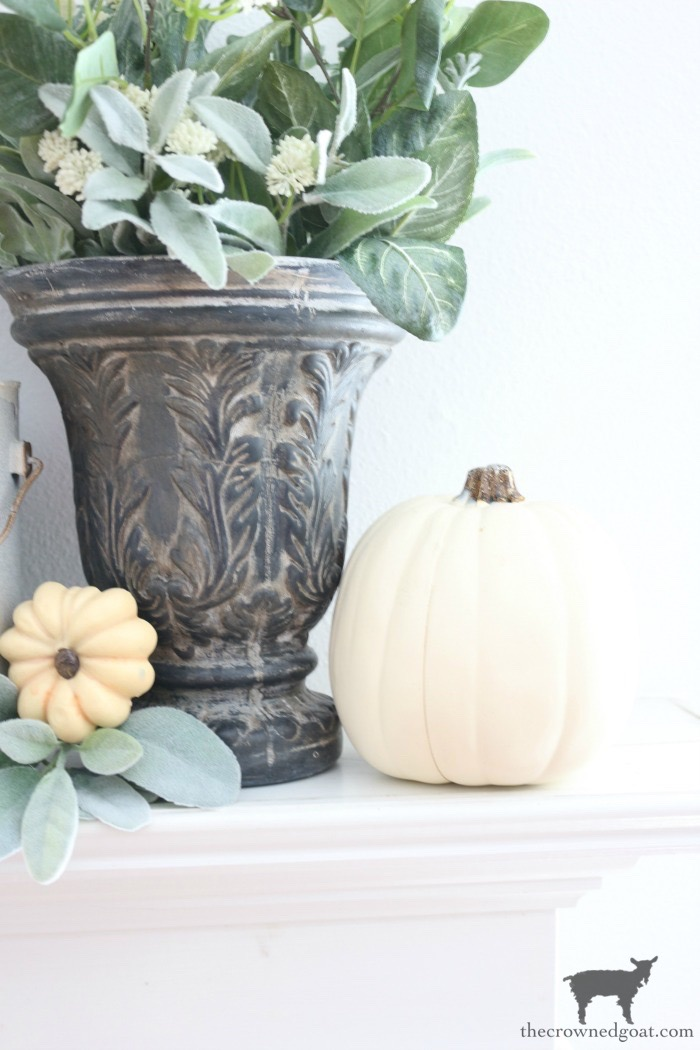 Fall-Inspired-Living-Room-Mantel-The-Crowned-Goat-14 Fall Inspired Living Room and Mantel Decorating DIY Fall
