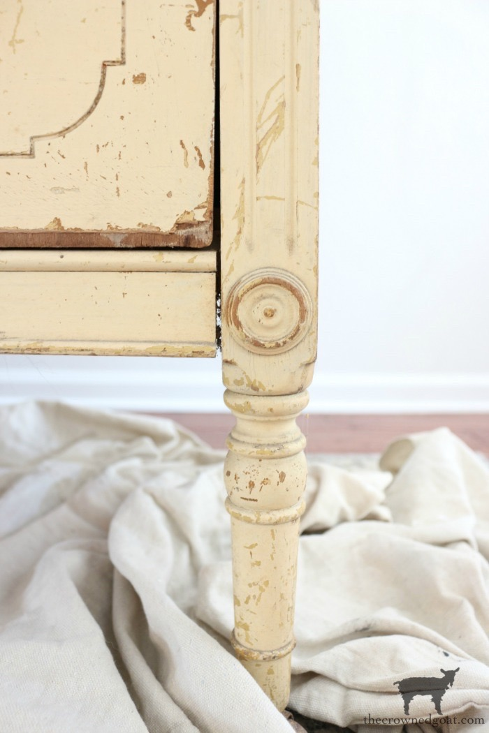 Marzipan-Milk-Paint-Dresser-The-Crowned-Goat-4 Miss Mustard Seed Milk Paint Dresser in Marzipan DIY Painted Furniture