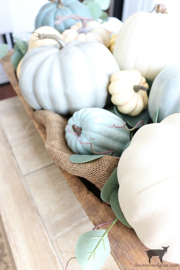 Creating-an-Heirloom-Pumpkin-Centerpiece-The-Crowned-Goat-8 Quick & Easy Heirloom Pumpkin Centerpiece Decorating DIY Fall
