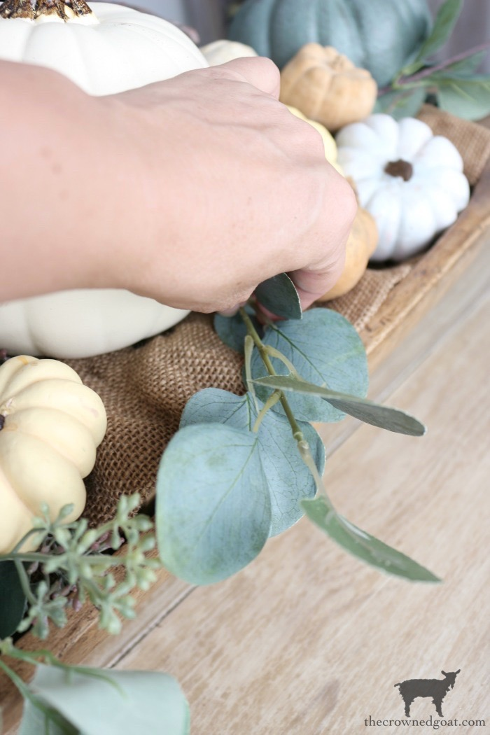 Creating-an-Heirloom-Pumpkin-Centerpiece-The-Crowned-Goat-9 Quick & Easy Heirloom Pumpkin Centerpiece Decorating DIY Fall