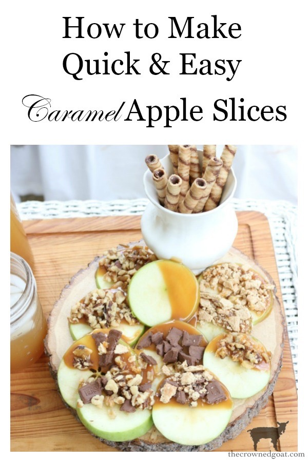 Easy-Caramel-Apple-Slices-The-Crowned-Goat-13 Quick & Easy Caramel Apple Slices Fall