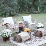Outdoor Movie Night & Fall Popcorn Recipe