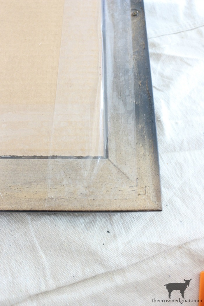How-to-Frame-a-Poster-The-Crowned-Goat-13 An Inexpensive Way to Frame a Poster or Print Decorating DIY