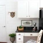Kitchen Desk Makeover Reveal