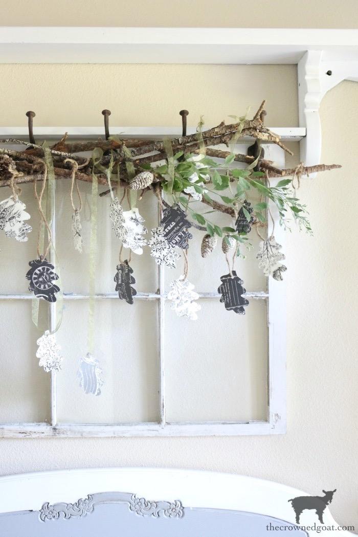 Antique-Picture-Frame-Advent-Calendar-The-Crowned-Goat-1 Antique Picture Frame Advent Calendar Christmas DIY