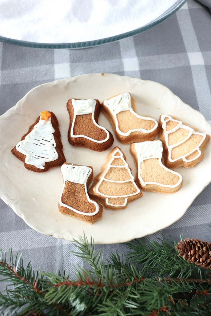Gingerbread-Cookies-From-Sugar-Cookie-Mix-The-Crowned-Goat-19 How to Make Gingerbread Cookies from a Sugar Cookie Mix Baking Christmas Holidays