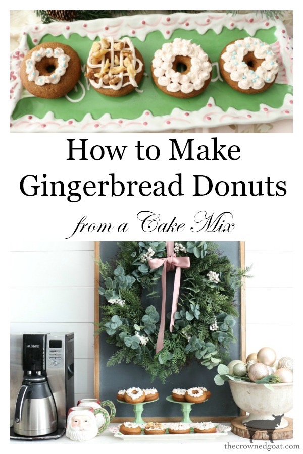 Quick-Easy-Gingerbread-Donuts-The-Crowned-Goat-16 Quick & Easy Gingerbread Cake Donuts Baking Christmas Holidays