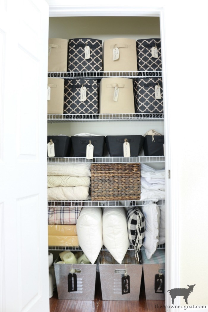 52-Weeks-to-a-Simplified-and-Organized-Home-The-Crowned-Goat-2 52 Weeks to a Simplified & Organized Home Challenge DIY Organization