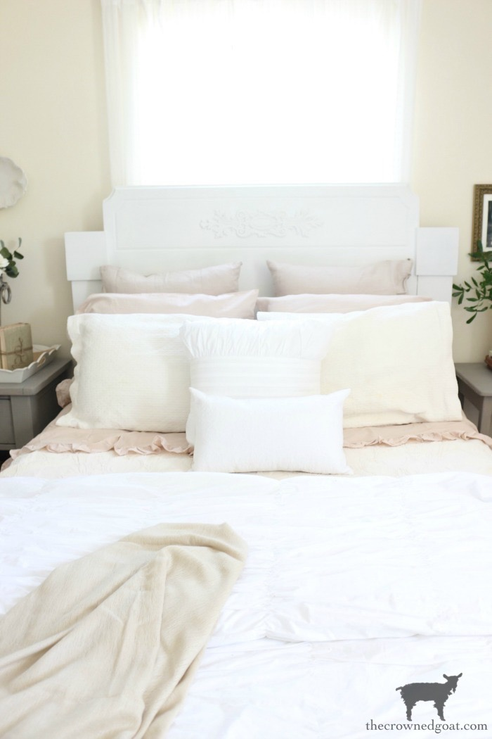 Loblolly-Manor-Headboard-Makeover-The-Crowned-Goat-10 Loblolly Manor: Guest Bedroom Headboard Makeover Decorating Loblolly_Manor Painted Furniture