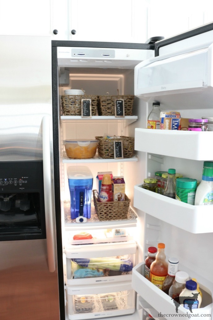 The-Easiest-Way-To-Organize-the-Pantry-and-Refrigerator-The-Crowned-Goat-10 The Easiest Way to Organize Your Pantry & Refrigerator DIY Organization