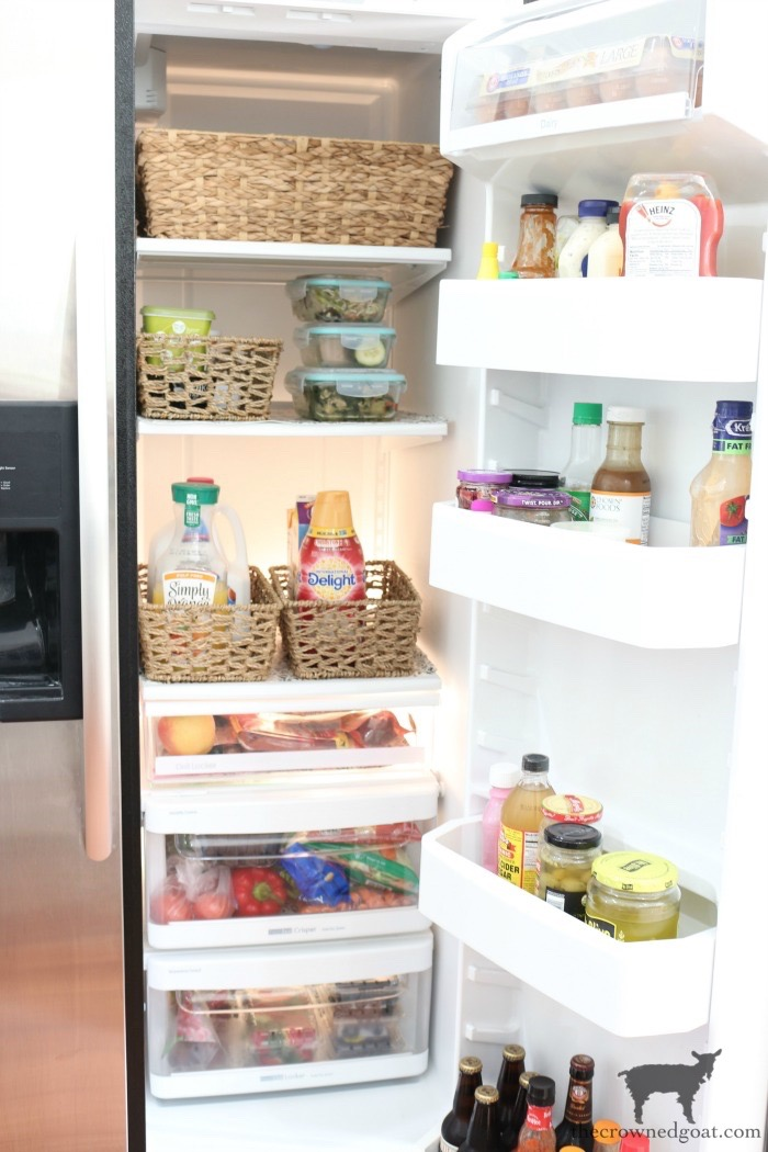 The-Easiest-Way-To-Organize-the-Pantry-and-Refrigerator-The-Crowned-Goat-17 The Easiest Way to Organize Your Pantry & Refrigerator DIY Organization