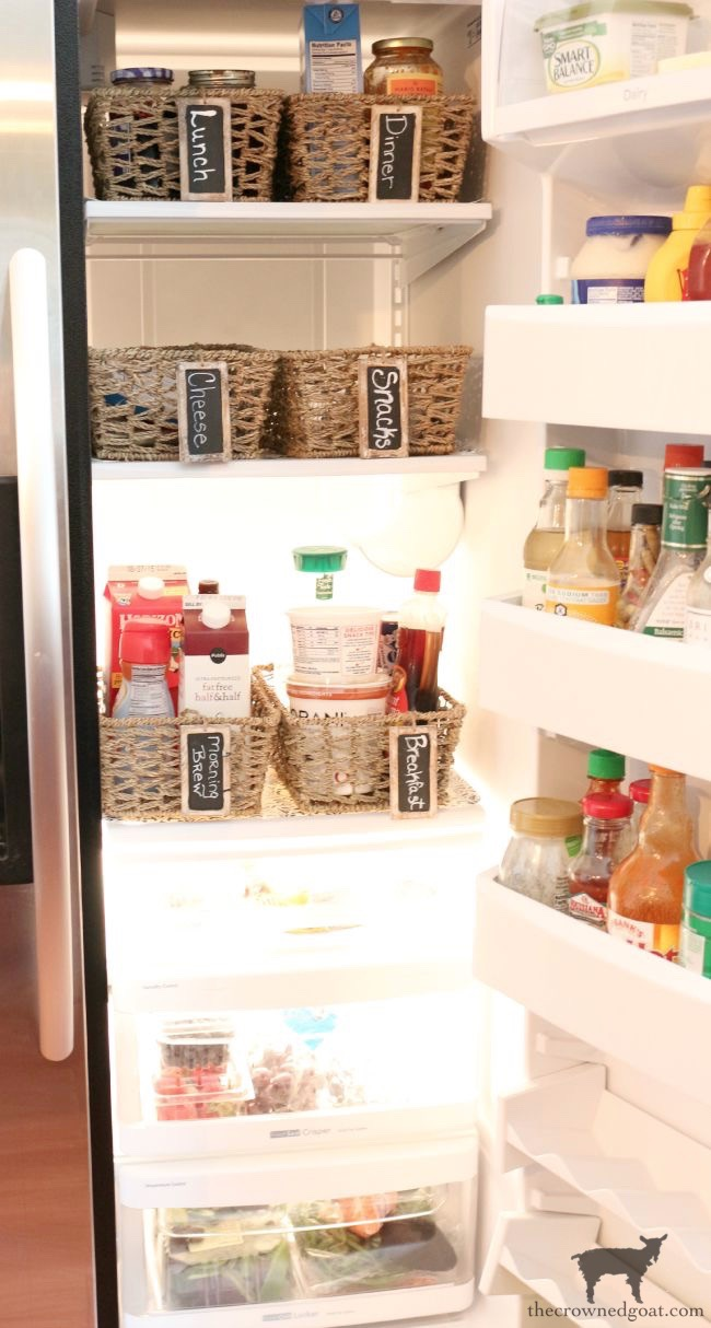 The-Easiest-Way-To-Organize-the-Pantry-and-Refrigerator-The-Crowned-Goat-9 The Easiest Way to Organize Your Pantry & Refrigerator DIY Organization