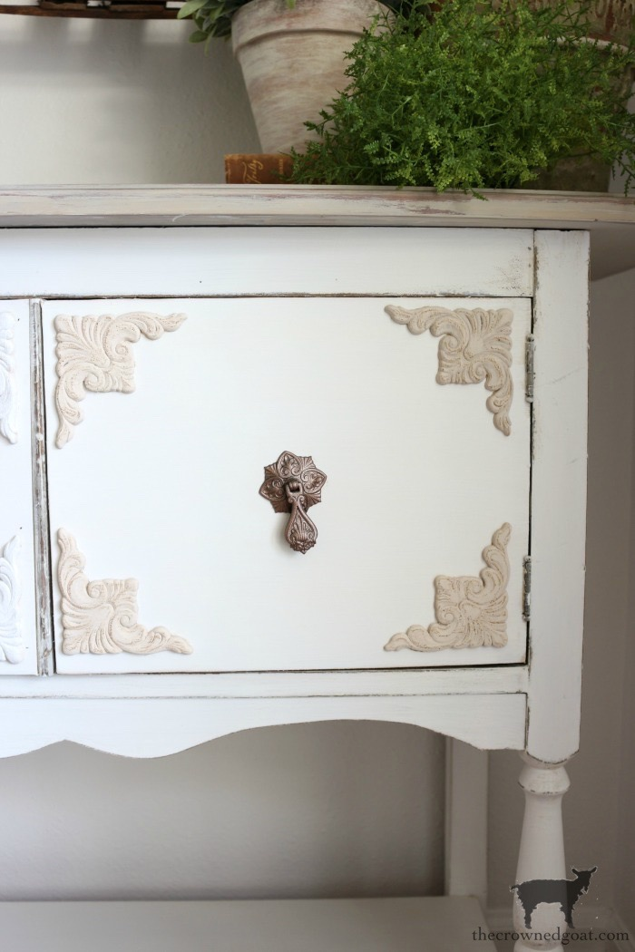 Dining-Room-Buffet-Makeover-The-Crowned-Goat-24 Dining Room Buffet Makeover Decorating DIY Painted Furniture