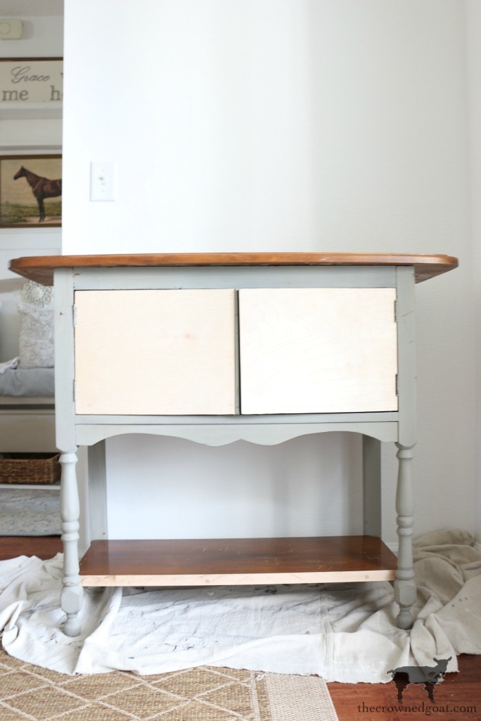 Dining-Room-Buffet-Makeover-The-Crowned-Goat-5 Dining Room Buffet Makeover Decorating DIY Painted Furniture