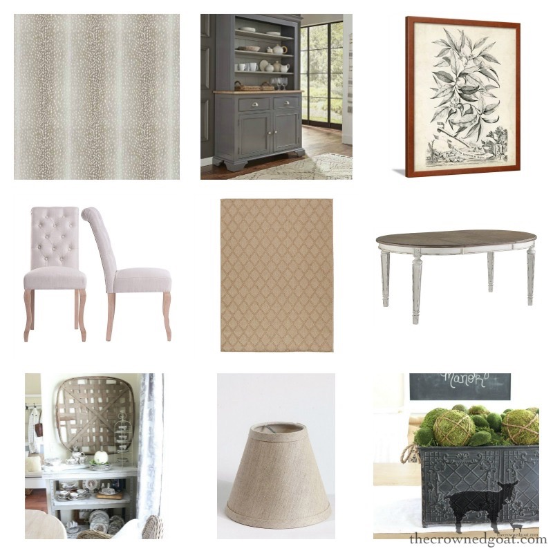Dining-Room-Makeover-Plans-The-Crowned-Goat-6 Dining Room Makeover Plans Decorating