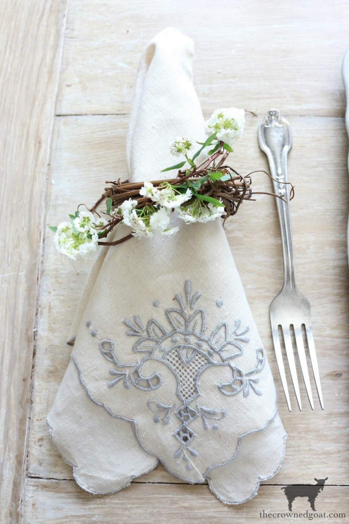 Bunny-Tablescape-The-Crowned-Goat-9 Spring Bunny Tablescape Decorating DIY Holidays Spring