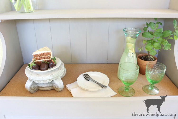 Dry-Sink-Drink-Station-Makeover-The-Crowned-Goat-12 Dry Sink Drink Station Makeover Decorating DIY Painted Furniture