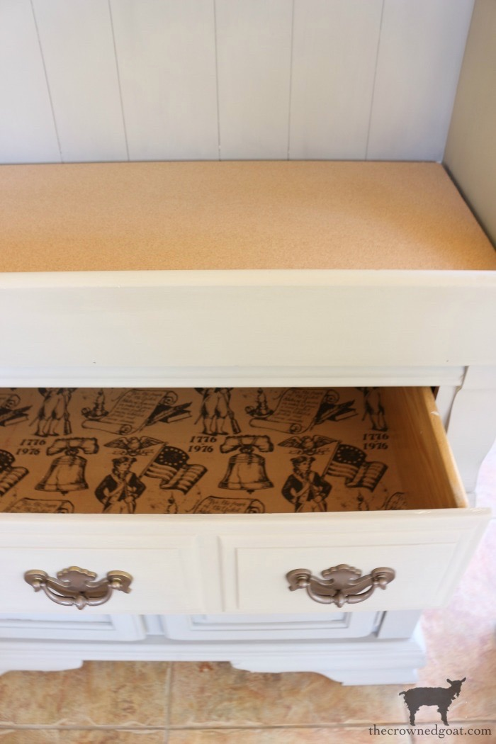 Dry-Sink-Drink-Station-Makeover-The-Crowned-Goat-13 Dry Sink Drink Station Makeover Decorating DIY Painted Furniture