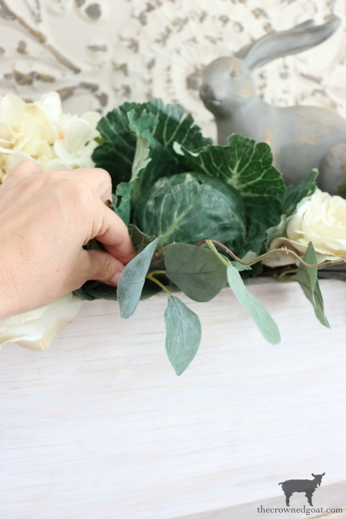 How-to-Make-a-Simple-Spring-Centerpiece-The-Crowned-Goat-13 How to Make a Simple Spring Centerpiece Decorating DIY Holidays Spring
